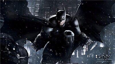 Batman Arkham Origins City Asylum The Joker Harley Quinn Game Poster 42 X24  079