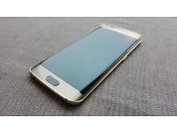 Samsung S6 Edge platinum Gold 32GB Mint