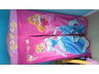 Disney princess bed frame and wardrobe