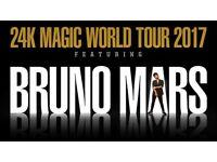 Bruno mars tickets x 2