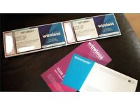 Wireless Tickets | Saturday ONLY | 4 available