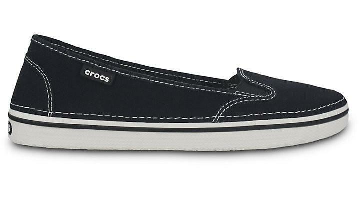 Crocs Hover Slip On Canvas Black