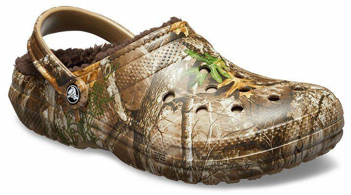 Crocs Unisex Classic Lined Realtree Edge® Clog