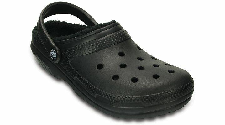 Crocs Unisex Classic Fuzz Lined Clog