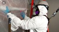 Asbestos testing and removal services