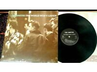 The Smiths ‎– The World Won't Listen, VG, released ‎in 1987, 80s Indie Rock Vinyl Record