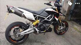 Aprilia Dorsoduro 1200 ABS 2012 Supermoto, mot Jan 2018, 7k odd miles. Not 750, KTM, Husky, CCM