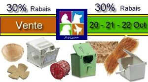 VENTE 30% ARTICLES ELEVAGE 20-21-22 OCT