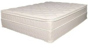 BEDROOM DEPOT MATTRESS SALE, QUEEN PILLOWTOP SET $388