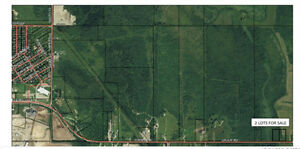 2 vacant lots for sale (Cochrane Ont)