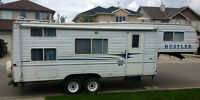 26ft Rustler 5th wheel with bunks