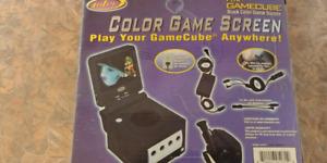 Écran pour gamecube