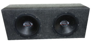 "Precision Power C1 Dual 12"" Sub w/Box & Vibe230 500w amplifier"
