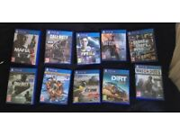 PS4 GAMES, GOOD CONDITION