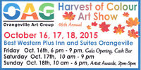 Harvest of Colour Art Show and Sale