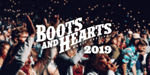 BOOTS & HEARTS:  AUG 8-11 GENERAL ADMISSION PASS/TICKET!
