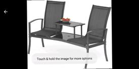 Black net companion seat