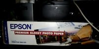 ft for Epson S041378 Epson Premium Glossy Photo Paper 13 in x 32.8