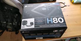 Corsair h80 aio CPU cooler