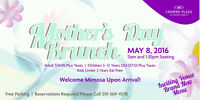 Mother's Day Brunch @ Crowne Plaza Kitchener-Waterloo