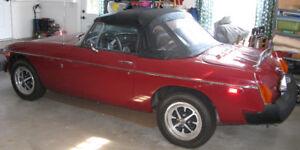 1976 MG MGB Convertible (Roadster)