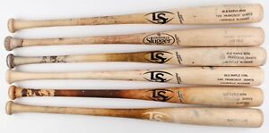 SF Giants Game used bats
