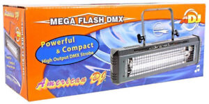 AMERICAN DJ MEGA FLASH DMX 800W STROBE-mint condition