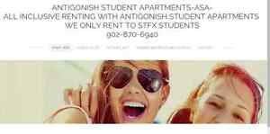 StFX Students Houses For Rent