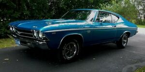 69 Chevelle 300 Deluxe Post Coupe SS