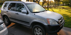 2002 Honda CRV - great shape and well maintained.