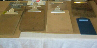 Vintage Lot Of 10 Clipboards Quill Saunders Exp Uci Skilcraft 12.5 8