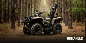 2017 Can Am Outlander 570 Hunter Edition / Brand New