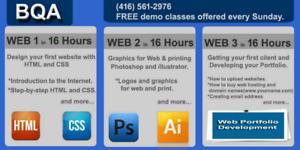 FREE DEMO CLASS OF WEB DESIGNING COURSE IN BRAMPTON
