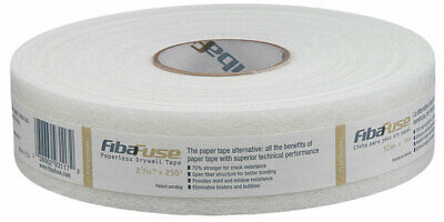 Adfors Fibafuse 250 Ft. L X 2 In. W Fiberglass White Paperless Drywall Tape