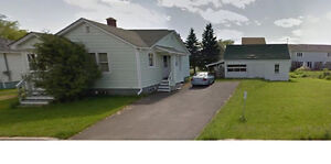Small house with basement apartment and detached garage