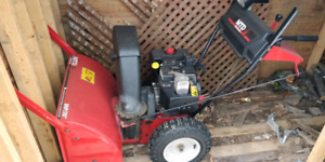 Snowblower MTD 8HP 26 inches Wide, A1 condition