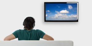 Professional TV Wall Mounting - Fixation Murale TV = $30