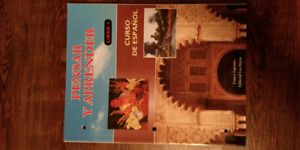 Spanish book pensar y aprender
