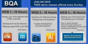 FREE DEMO CLASS OF WEB DESIGNING ON WEEKENDS