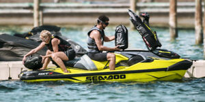 Sea-Doo RXT300X for rent (supercharged 300hp, 140km/h)