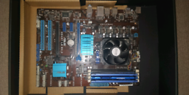 AM3+ Motherboard AMD CPU 12GB DDR3 RAM