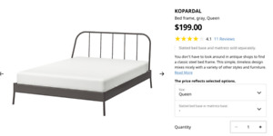 almost new two IKEA queen size beds, need to by JULY 30th