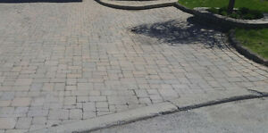 LAST OFFER - PERMACON pave-uni approx 2,000 sq.ft (0.99 / sq.ft)