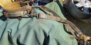 Safety Belt Leather / Metal used