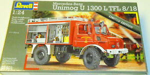 Revell Germany 1/24 Mercedes-Benz Unimog U1300L fire engine
