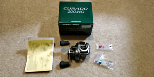 Brand new shimano curado 200i HG with 4 bearings upgraded