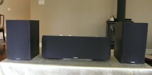 Paradigm Titan V.4 and Center Channel C270 Speakers For Sale