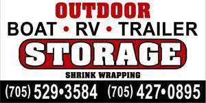 Boat, RV, Trailer Storage