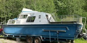 THE KOOTENAY QUEEN IS FOR SALE! 1976 - 30 ft. Cabin Cruizer