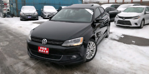 2012 Volkswagen Jetta TDI Highline Bluetooth Sunroof